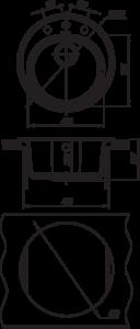 Мойка Florentina Лотос 510 размеры
