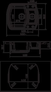 Мойка Florentina Нире 630К размеры