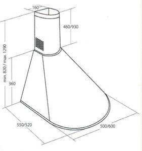Кухонная вытяжка Akpo WK-6 Dandys