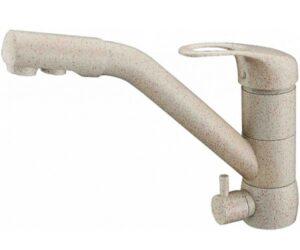 Смеситель на кухню Zorg ZR 400 KF-12 песочный