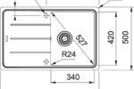 Franke BFG 611-78 параметры